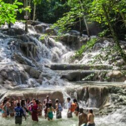 Dunn's River Falls & Martha Brae River Rafting Combo Tour Package