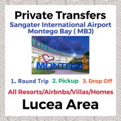 Private Transfer From Sangster International Airport Montego Bay to All Resorts, Villas, AirBnbs & Homes in Lucea Area
